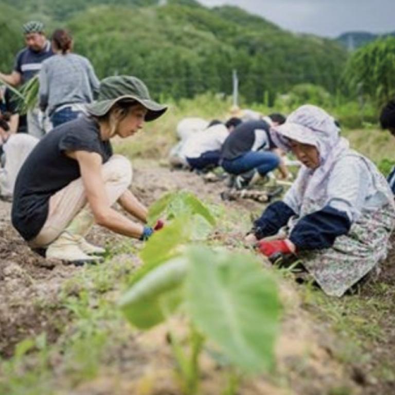 小松市で豊かな自然と「交流」する